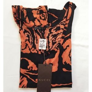 NWT Authentic Gucci Prints Tank Top